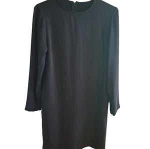    LAUREN RALPH LAUREN    Black Long Sleeve Dress